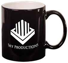 acc07e1a6a4 11 oz. Black Round Ceramic Mug – Laser Engraved – The TFC Shop